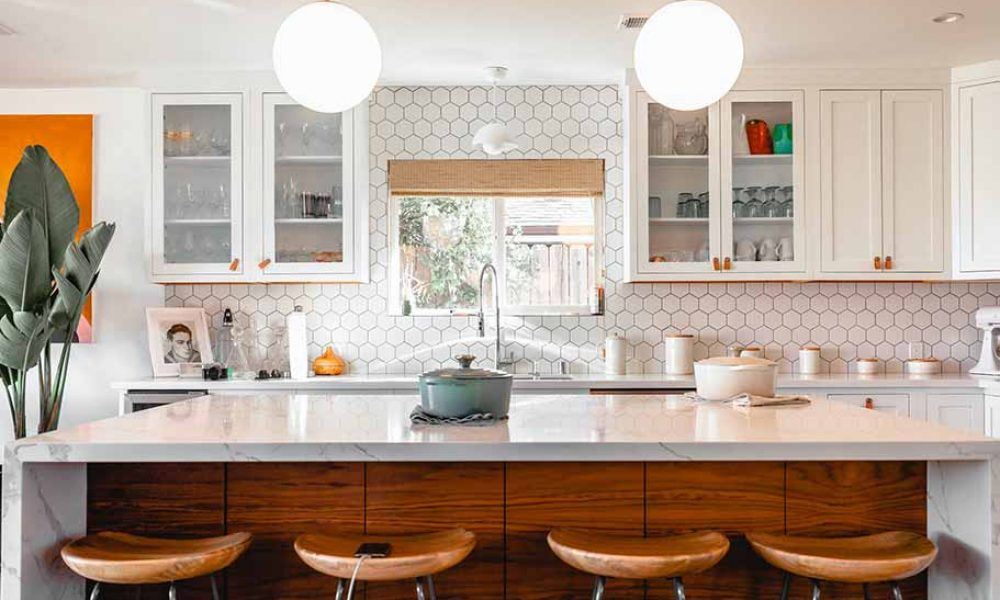 Mettre en valeur une cuisine blanche